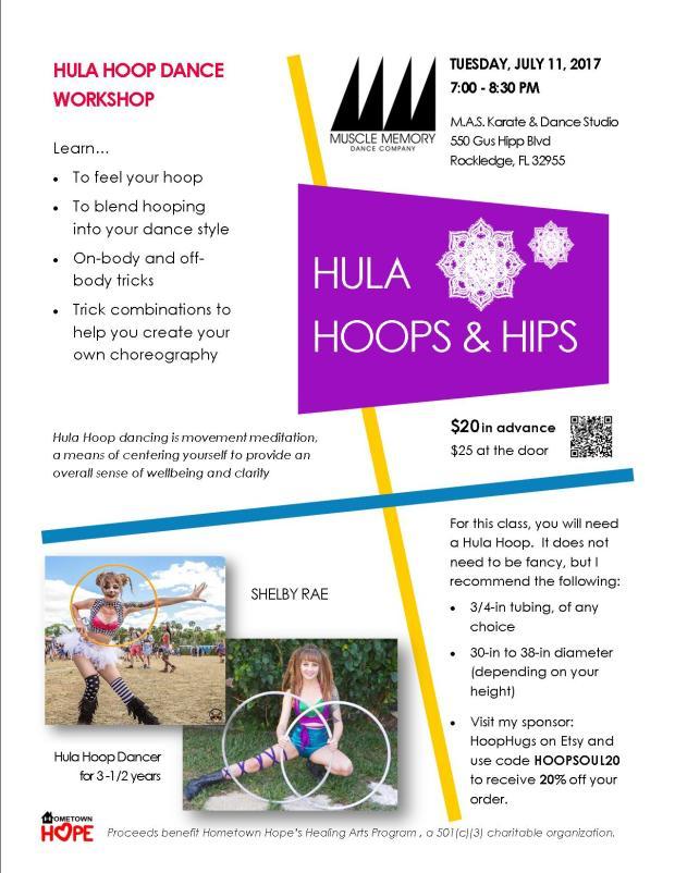 Hula Hoop Flyer